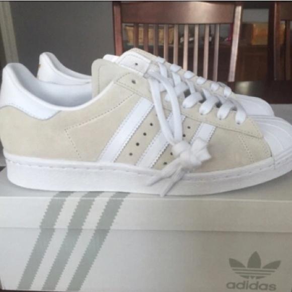 adidas Shoes   Tan White Adidas